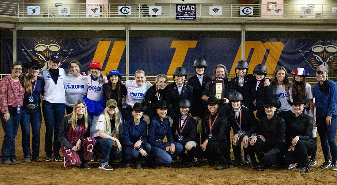 Equestrians win inaugural ECAC conference.