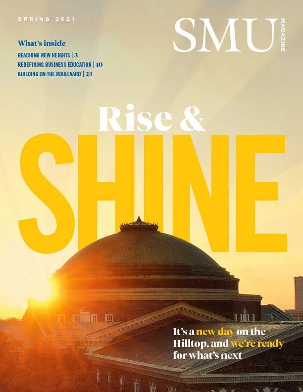 SMU Magazine cover spring 2021