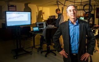 Human speed expert Peter Weyand