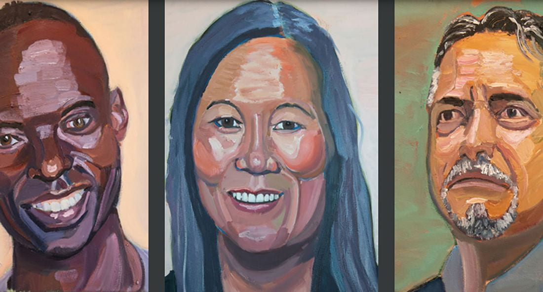 Thear Suzuki is among the immigrants painted by former President George W. Bush for his new book.