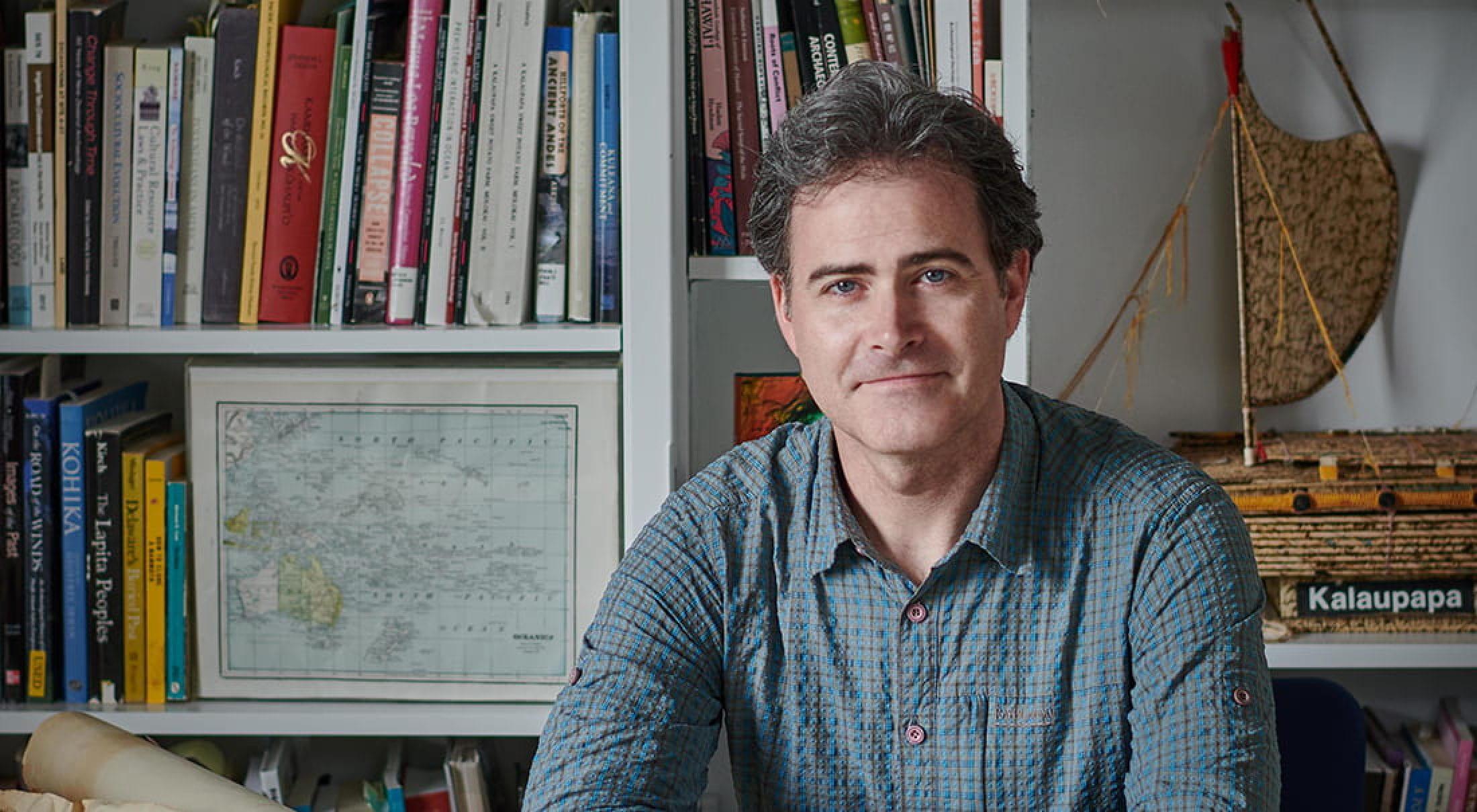 Award-winning author Mark McCoy.
