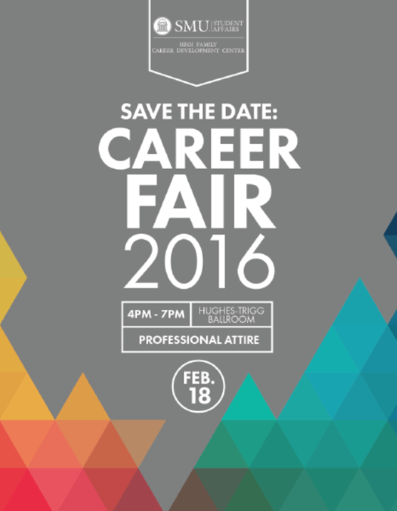 Save The Date 2016 Career Fair Feb 18 From 4 7 P M