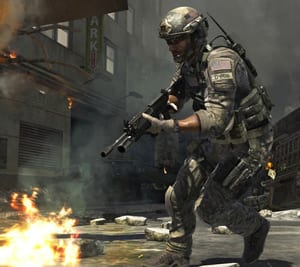 Portion of a screenshot from 'Call of Duty: Modern Warfare 3'