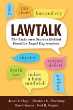 'Lawtalk' book cover