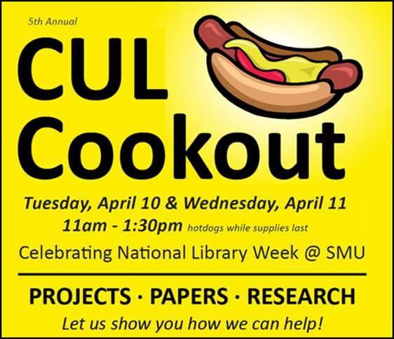 SMU 2012 CUL Cookout invitation