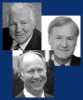 William J. Bennett, Chris Matthews, and David Gergen