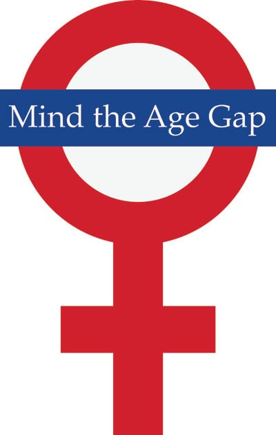 SMU Women's Symposium 'Mind the Age Gap' logo