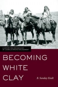 Book cover of 'Becoming White Clay' by B. Sunday Eiselt