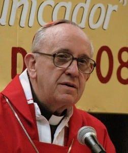Cardinal Jorge Mario Bergoglio, S.J., now Pope Francis, in 2008