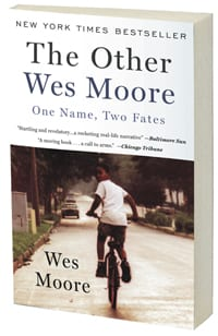 'The Other Wes Moore' book cover