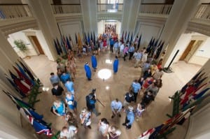 SMU Rotunda Passage 2012, photo by Clayton T. Smith