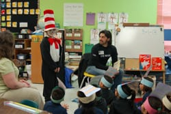 Denton Bricker at Dr. Seuss Day 2013