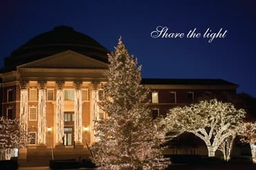 SMU official holiday card 2013