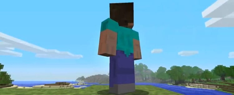 Still from the 'Minecraft' Adventure Update