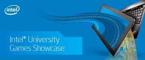 Intel University Games Showcase logo