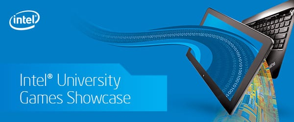 Intel Gaming Logo Intel University Games
