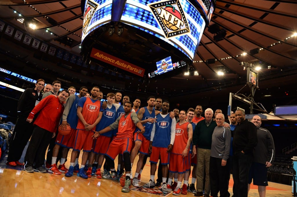 The SMU Mustangs in Madison Square Garden, 2014
