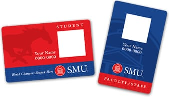 Designs for new SMU ID cards 2014
