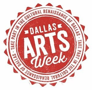 Dallas Arts Week 2014 logo
