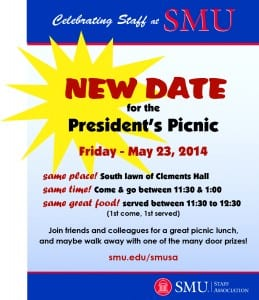 2014 SMU Staff Appreciation Day and President's Picnic - image