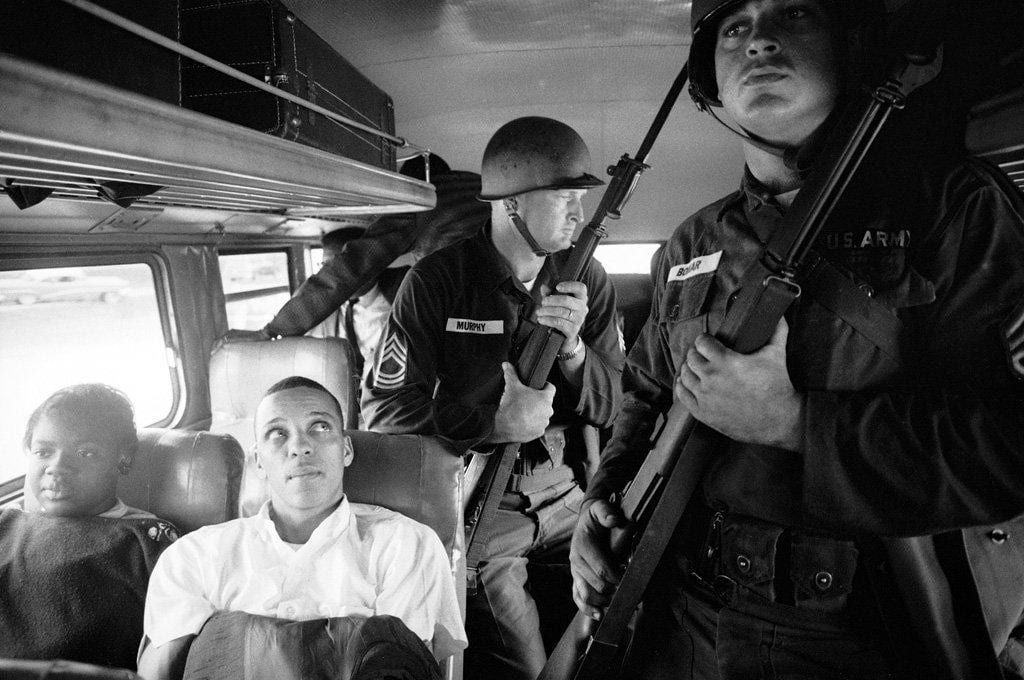 Freedom Riders Julia Aaron and David Dennis