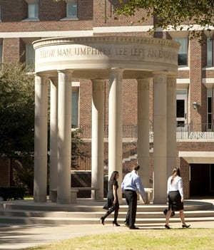 SMU Dedman School of Law Quad