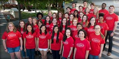 SMU Engaged Learning group photo, 2014-15