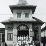 As neighborhood demographics changed, the Anshe Sphard Synagogue became an escuela (school) for Mexican-American children in the Pike Park neighborhood.