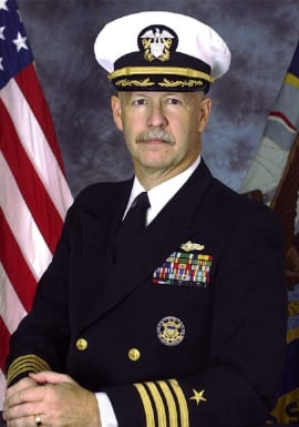 SMU Guildhall Deputy Director Capt. Steven Cole, US Navy Reserve