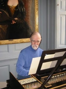 Larry Palmer, Professor of Harpsichord and Organ.