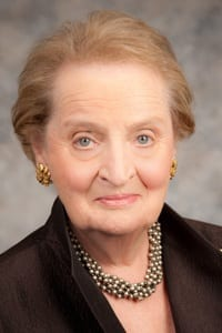 Madeleine K. Albright. 64th Secretary of State.