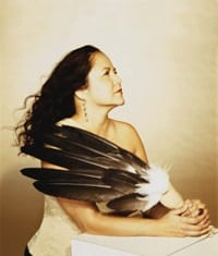 Native American, Grammy Award-Winning singer songwriter Joanne Shenandoah.