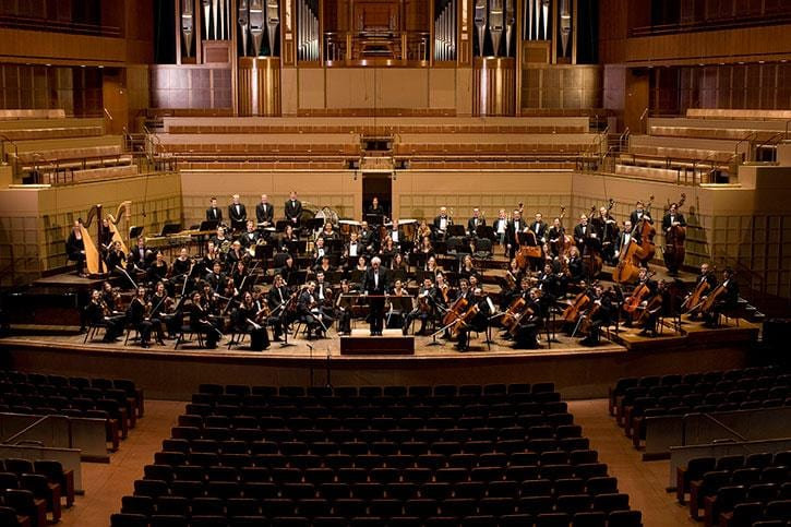 SMU's Meadows Symphony Orchestra in Dallas' Meyerson Symphony Center