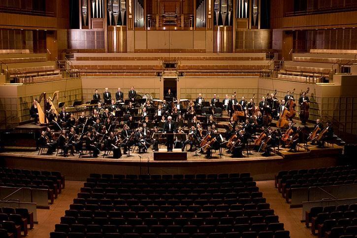 SMU's Meadows Symphony Orchestra in Dallas' Meyerson Symphony Center
