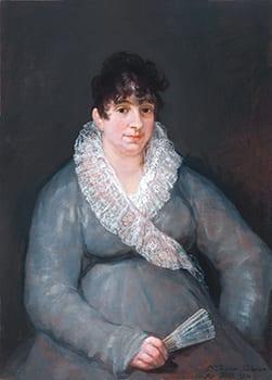 Francisco José de Goya y Lucientes (Spanish, 1746-1828), Portrait of Juana Garlaza de Goicoechea, 1810