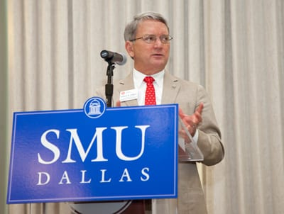 Harold Stanley, SMU Engaged Learning Expo 2013, photo by Kim Leeson