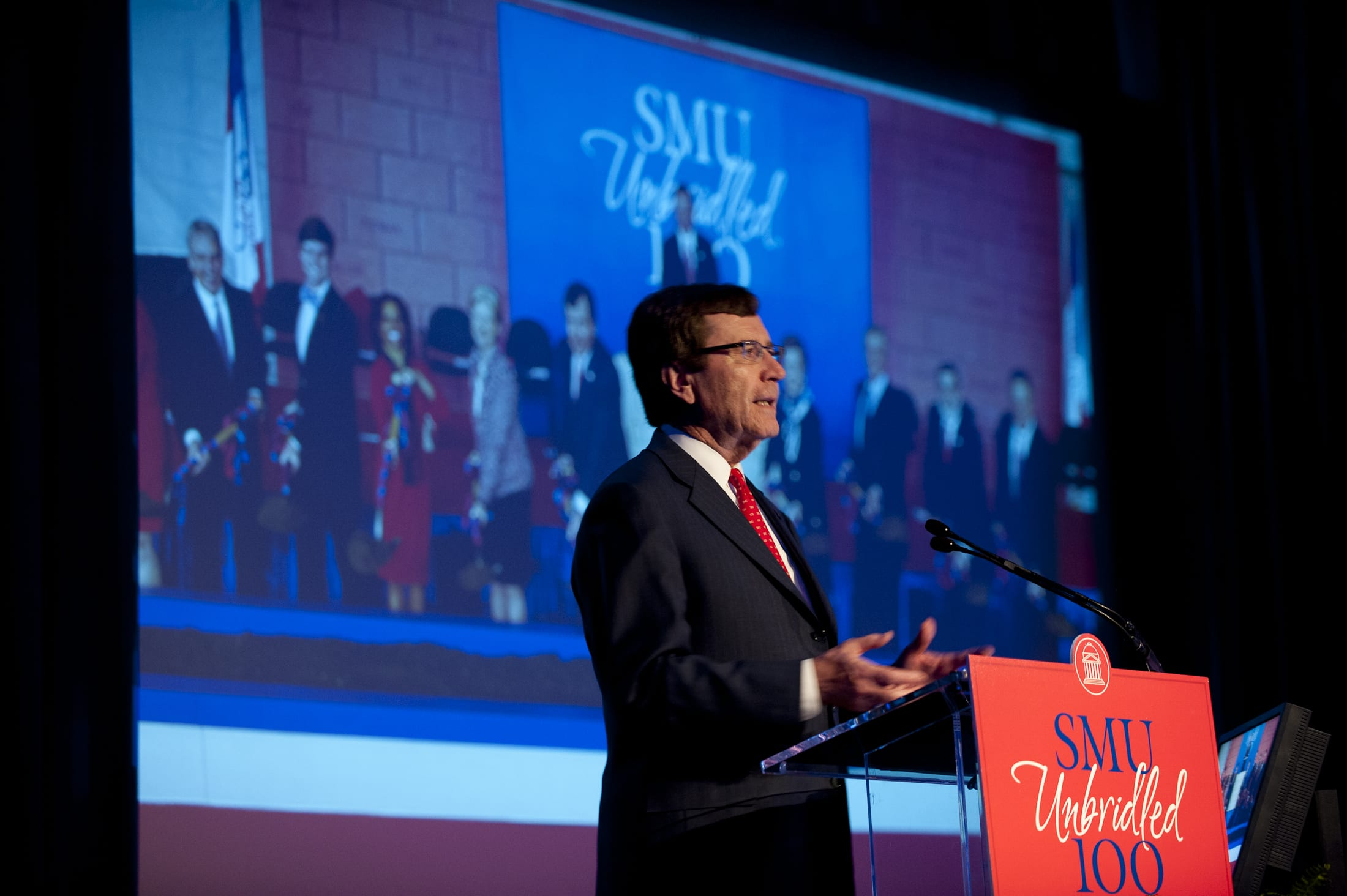 R. Gerald Turner, President's Briefing, SMU Founders' Day 2012