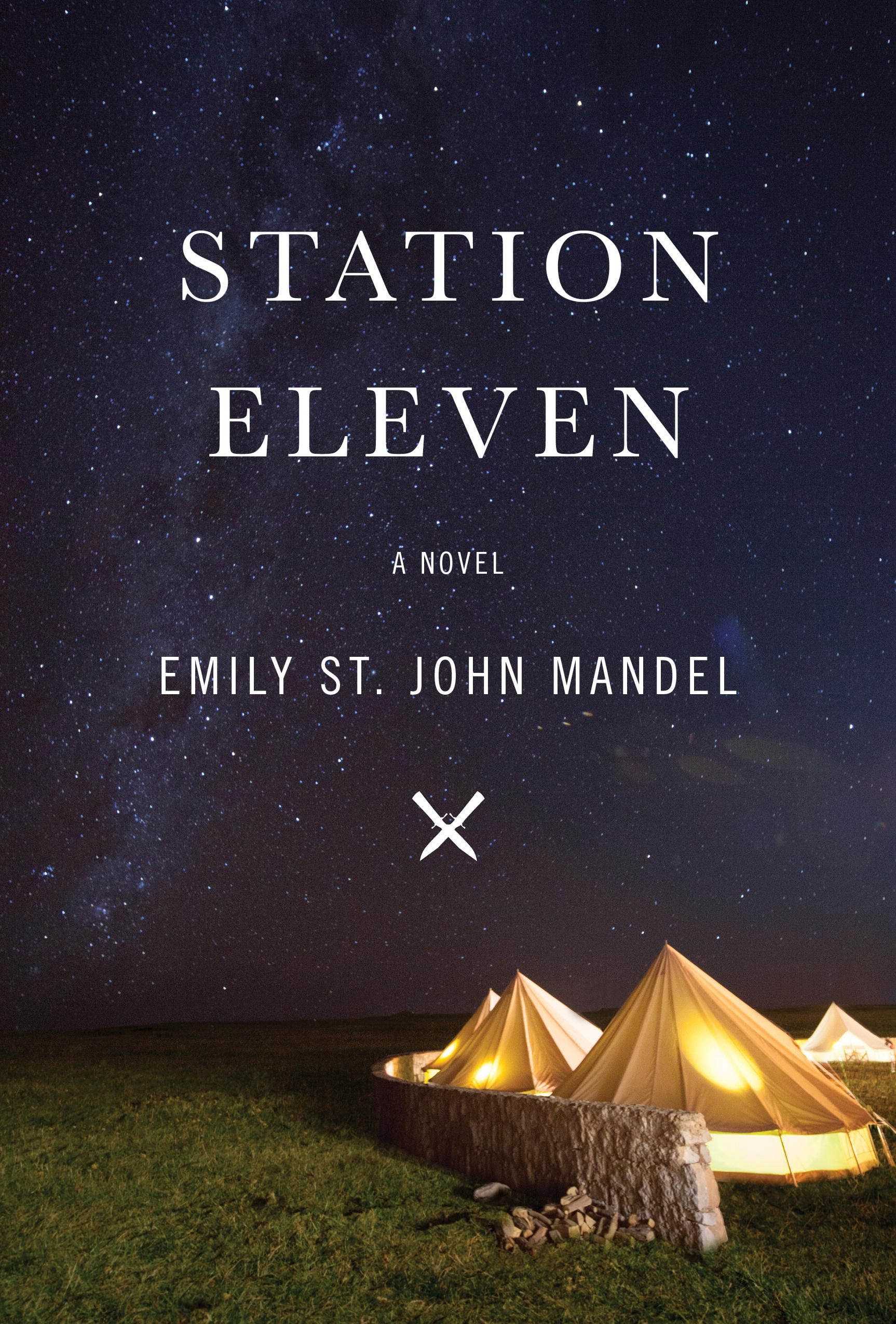 Station Eleven by Emily St. John Mandel, North American cover