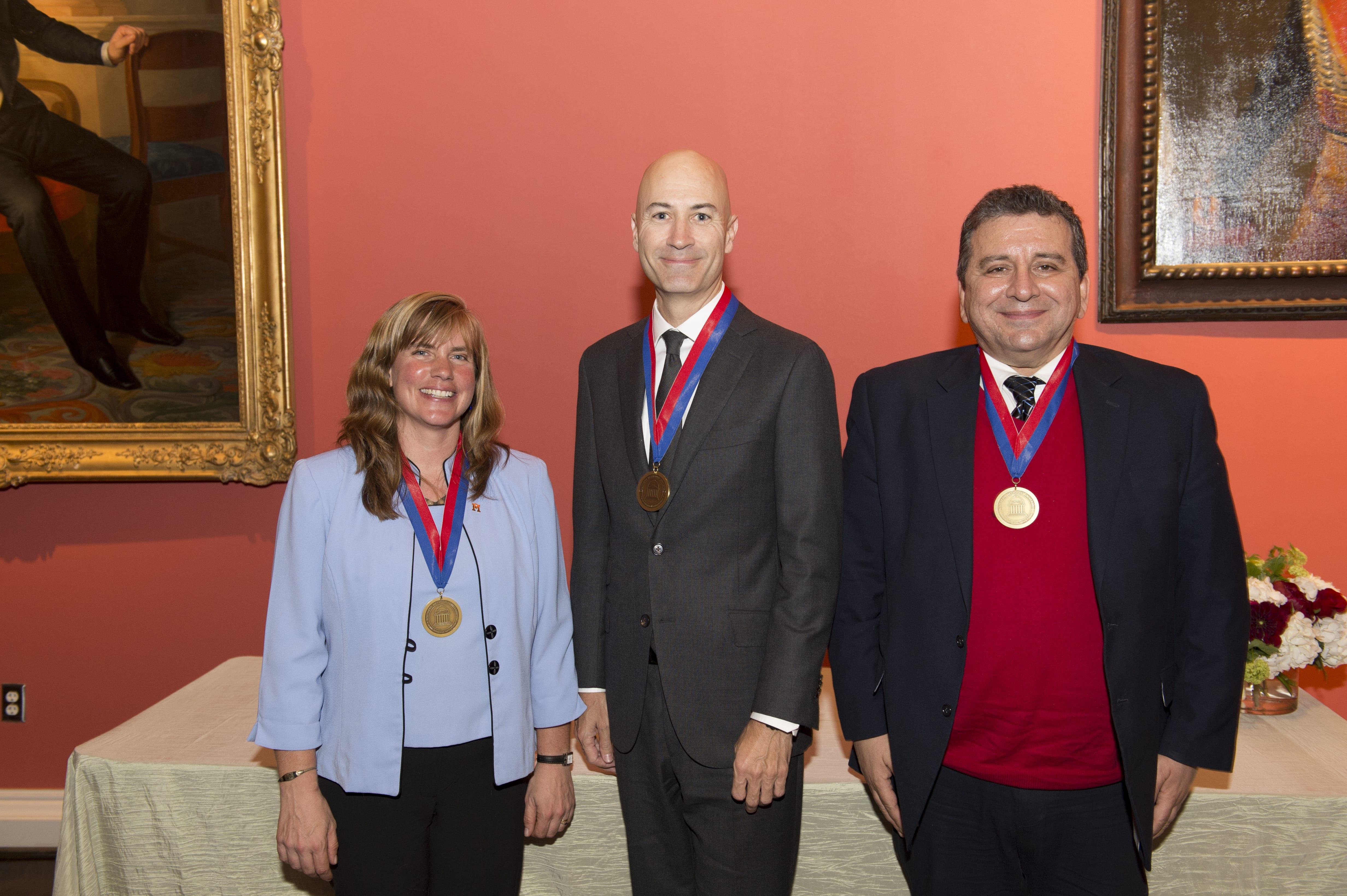 2015-17 SMU Altshuler Distinguished Teaching Professors