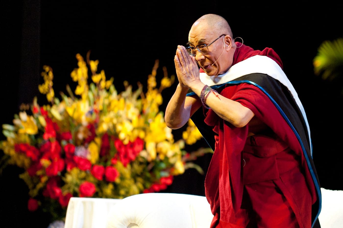 The 14th Dalai Lama at SMU, May 9, 2011