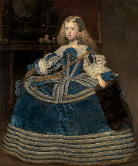 'Infanta Margarita in a Blue Dress,' Diego Velasquez