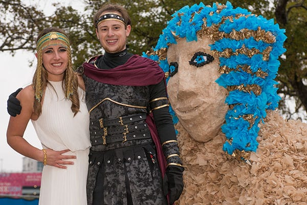 2014 Homecoming Parade, 'Dynamic Duos'
