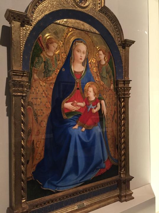 Fra Angelico, 'The Virgin of the Pomegranate' - photo by Nancy George