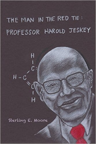 'The Man in the Red Tie: Professor Harold Jeskey' book cover