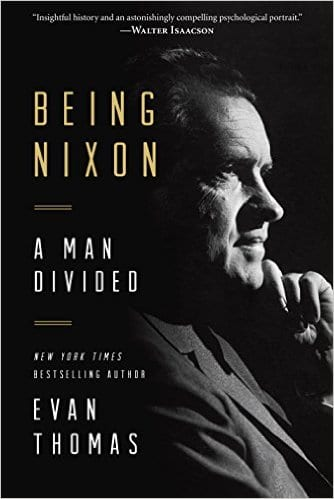 'Being Nixon' book cover, Evan Thomas