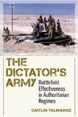 'The Dictator's Army' book cover