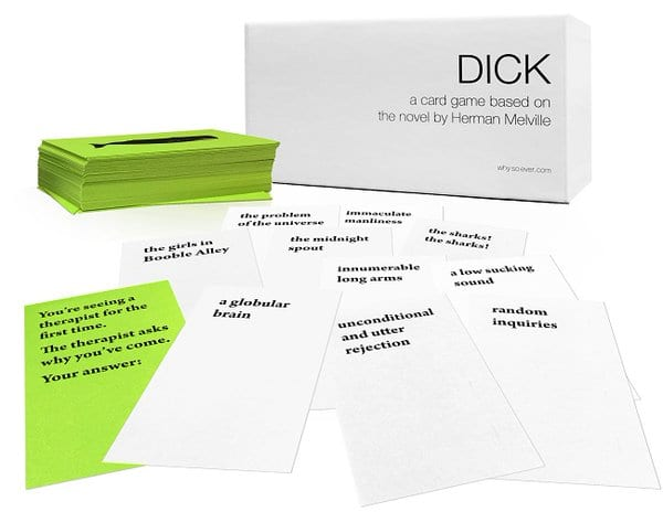 'DICK, the card game' box set