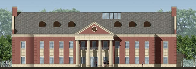 Dr. Bob Smith Health Center at SMU, artist rendering