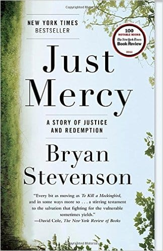 'Just Mercy' book cover
