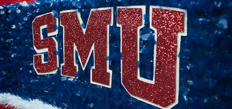 SMU Homecoming float